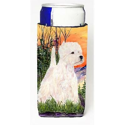 Carolines Treasures SS1013MUK Westie Michelob Ultra bottle sleeves For Slim Cans