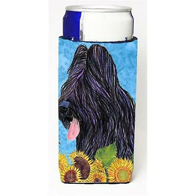 Briard In Summer Flowers Michelob Ultra bottle sleeves For Slim Cans 12 oz.