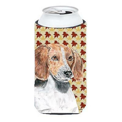 English Foxhound Fall Leaves Tall Boy bottle sleeve Hugger 22 to 24 oz. • AUD 47.47