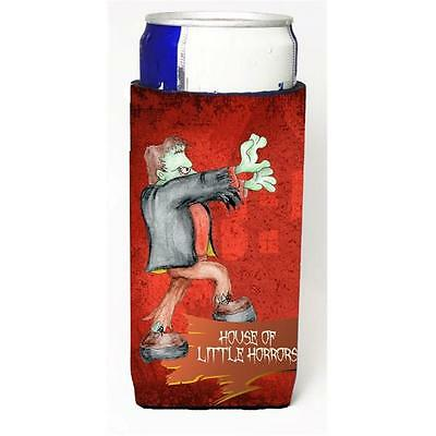 Little House Of Horrors With Frankenstein Halloween Michelob Ultra bottle sle...
