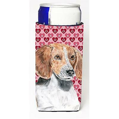 English Foxhound Valentines Love Michelob Ultra bottle sleeves for slim cans ...