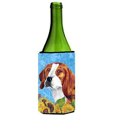 Carolines Treasures SC9067LITERK Beagle Wine bottle sleeve Hugger 24 oz.