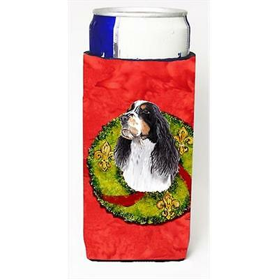 Carolines Treasures Springer Spaniel Michelob Ultra bottle sleeves For Slim Cans