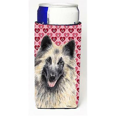 Belgian Tervuren Hearts Love and Valentines Day Portrait Michelob Ultra bottl...