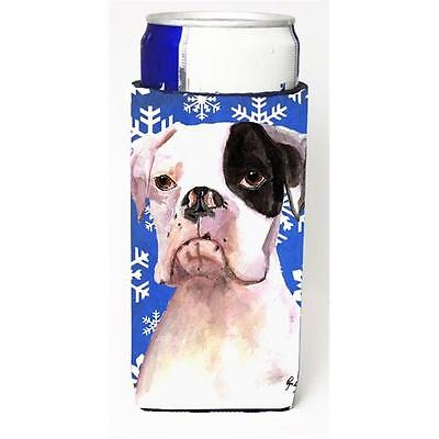 Cooper Winter Snowflakes Boxer Michelob Ultra bottle sleeves for slim cans 12...