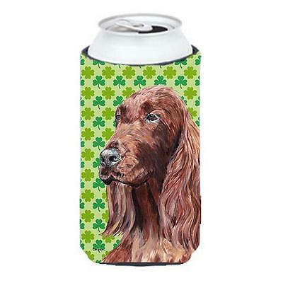 Irish Setter St Patricks Irish Tall Boy bottle sleeve Hugger 22 to 24 oz.