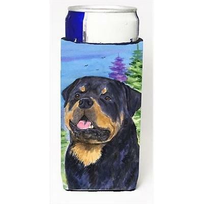 Carolines Treasures Rottweiler Michelob Ultra bottle sleeves For Slim Cans