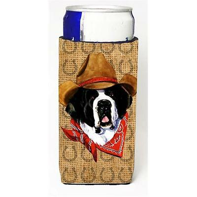 Saint Bernard Dog Country Lucky Horseshoe Michelob Ultra bottle sleeves For S...
