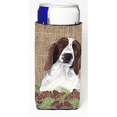 Welsh Springer Spaniel Michelob Ultra bottle sleeves For Slim Cans 12 oz.