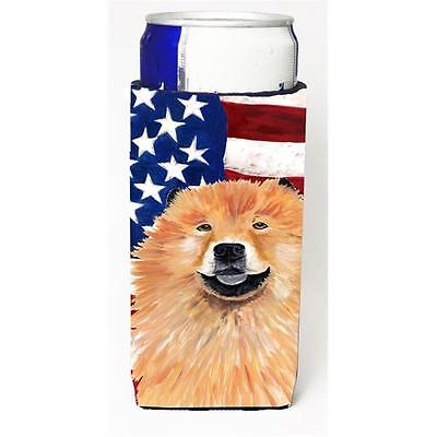Usa American Flag With Chow Chow Michelob Ultra bottle sleeves For Slim Cans ...