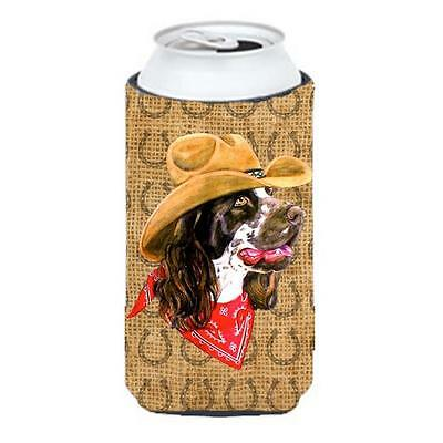 Springer Spaniel Dog Country Lucky Horseshoe Tall Boy bottle sleeve Hugger 22...