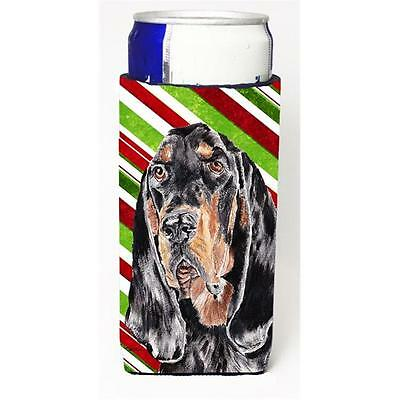 Coonhound Candy Cane Christmas Michelob Ultra bottle sleeves For Slim Cans 12...