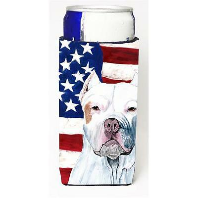 Usa American Flag With Pit Bull Michelob Ultra bottle sleeves For Slim Cans 1...