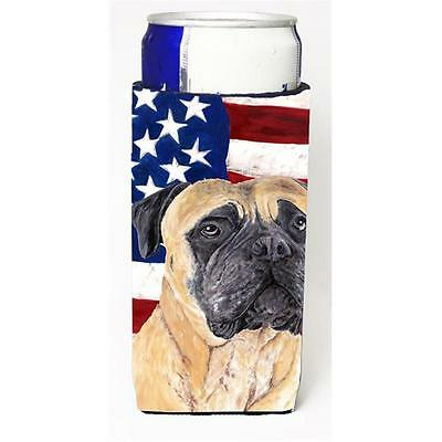 Usa American Flag With Mastiff Michelob Ultra bottle sleeves For Slim Cans 12...