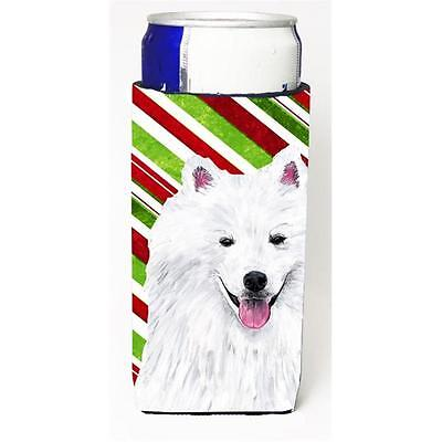 American Eskimo Candy Cane Holiday Christmas Michelob Ultra bottle sleeves Fo...