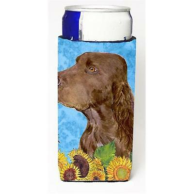 Field Spaniel In Summer Flowers Michelob Ultra bottle sleeves For Slim Cans 1...