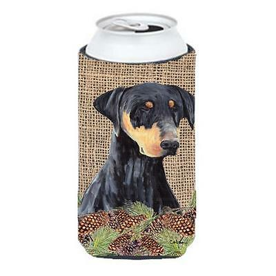 Carolines Treasures Doberman Tall Boy bottle sleeve Hugger 22 To 24 oz.