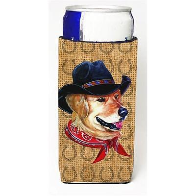 Golden Retriever Dog Country Lucky Horseshoe Michelob Ultra bottle sleeves Fo...