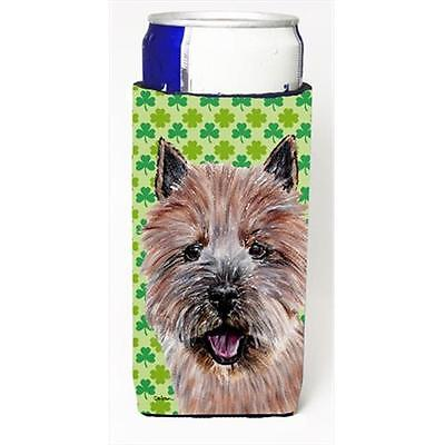 Norwich Terrier Lucky Shamrock St. Patricks Day Michelob Ultra bottle sleeves...