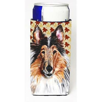 Collie Fall Leaves Michelob Ultra bottle sleeves Slim Cans 12 Oz.