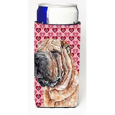 Shar Pei Hearts And Love Michelob Ultra bottle sleeves Slim Cans 12 Oz.