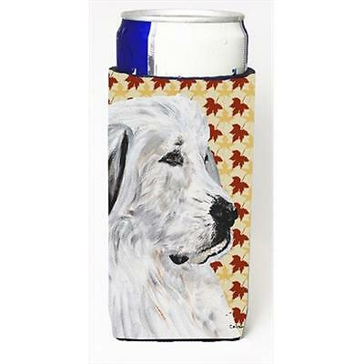 Great Pyrenees Fall Leaves Michelob Ultra bottle sleeves Slim Cans 12 Oz.