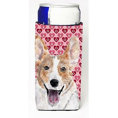Cardigan Corgi Hearts And Love Michelob Ultra bottle sleeves Slim Cans 12 Oz.