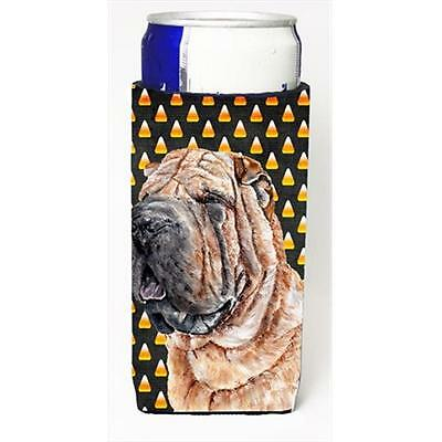 Shar Pei Candy Corn Halloween Michelob Ultra bottle sleeves Slim Cans 12 Oz.