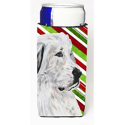 Great Pyrenees Candy Cane Christmas Michelob Ultra bottle sleeves Slim Cans 1...
