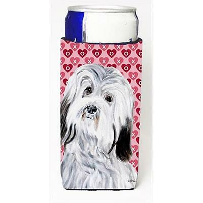 Havanese Hearts And Love Michelob Ultra bottle sleeves Slim Cans 12 Oz.