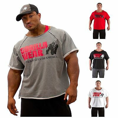 Gorilla Wear Classic Work Out Top  Bodybuilding Fitness