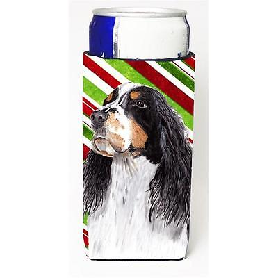 Springer Spaniel Candy Cane Holiday Christmas Michelob Ultra bottle sleeves F...