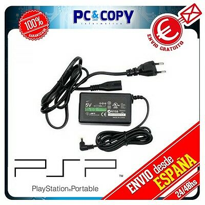 Cargador Red Cable Para Sony Psp Fat 1000 1001 1002 1003 1004 Power Ac Adapter