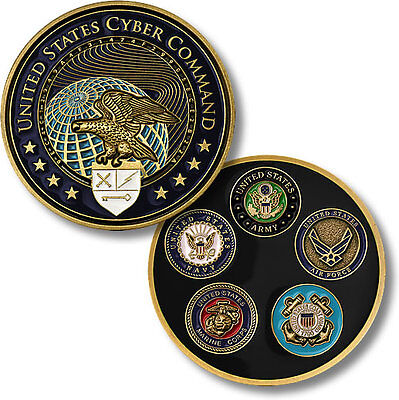 U.S. Cyber Command / Armed Forces Seals - Challenge Coin