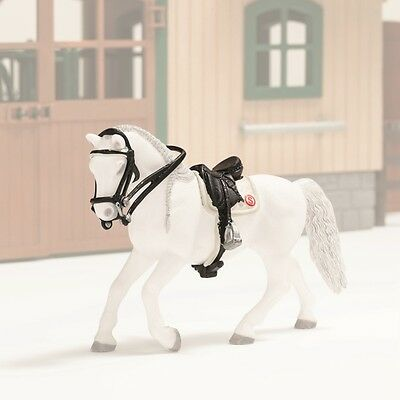 Schleich 42125 Dressage Saddle and Bridle Accessories for Toy Model Horse - NIP