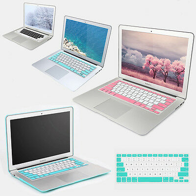 Protector For Apple Macbook Retina Pro US Colorful Silicone Keyboard Cover Skin