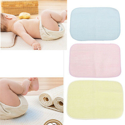 Baby Toddler Waterproof Washable Reusable Diaper Changing Mat Pad Nappy Cover