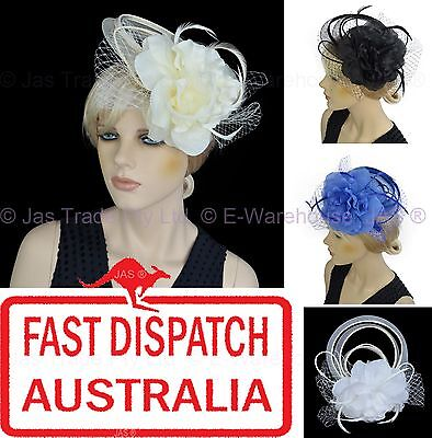 Melbourne Cup Wedding Spring Racing Carnival Headband Clip Hatinator Fascinator
