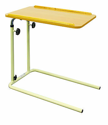 Overbed Over Bed Table Without Castors SPECIAL OFFER!Height Adjustable!!