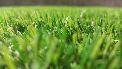 15mm Top Quality Hard Wearing Lawn Turf Artificial Grass Length 5m x Width 4m