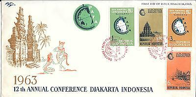 Indonesia 1963 PATA 12th Annual Conference First Day Cover March 14th