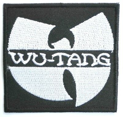 WuTang Clan Embroidered Hip Hop Iron On Sew On Shirt Bag Applique Badge Patch