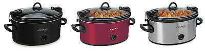 Crock-Pot SCCPVL600 Cook' N Carry 6-Quart Oval Portable Slow Cooker, 3 Colors