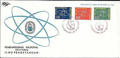 Indonesia 1962 Science for Development First Day Cover