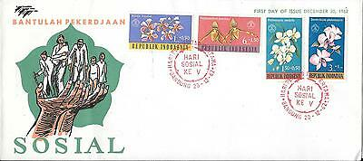 Indonesia 1962 Social Day First Day Cover