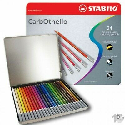 STABILO Pastellkreide-Stift Carb-Othello 24er Metall-Etui