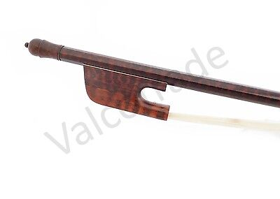 Cello Bow, Snakewood Baroque Style, Hand Made, 4/4