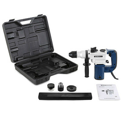 EBERTH 1100W Impact hammer drill drilling chiseling heavy duty electric rotary