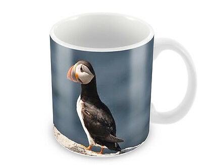 Puffin  Coffee Mug Free Personalisation