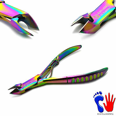 Chiropody Manicure Pedicure Nail Art Tools Cuticle Remover Trimmer Clipper